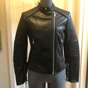 ZARA 🖤 Motorcycle Jacket Vegan Leather